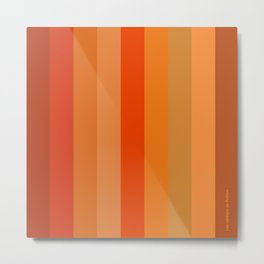 - Los naranjas de Rothko Metal Print