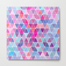Lovely geometric Pattern Metal Print