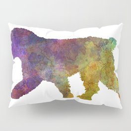 Spanish Water Dog in watercolor Pillow Sham