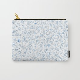 Creatures in the Sky Carry-All Pouch