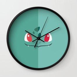 bulbasaurr Wall Clock