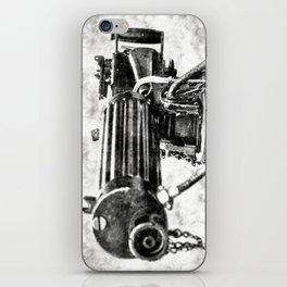 Vickers Machine Gun Vintage iPhone Skin