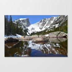 Dream Lake Reflections Canvas Print