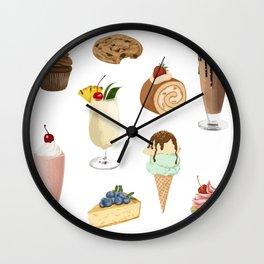Delicious Bakery Wall Clock
