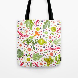 Fruits and vegetables pattern (7) Tote Bag