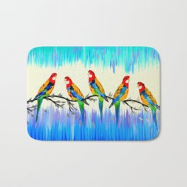 Australian Birds Bath Mat