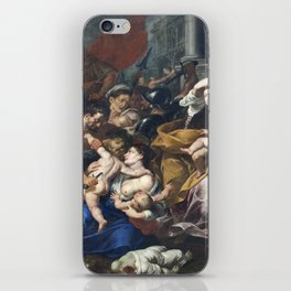 Milan - paint of Massacre of the Innocents from San Eustorgio church iPhone Skin