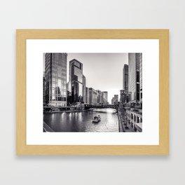 Silver River Framed Art Print