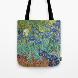 Vincent van Gogh - Irises Tote Bag