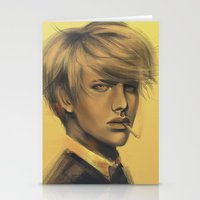 durarara Stationery Cards featuring Shizuo by emametlo