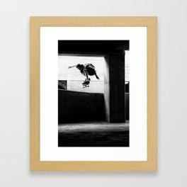 Jesse Burr- Ollie Framed Art Print