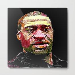 George Floyd - He is not Black, He is every Color Metal Print