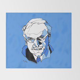 Swiss Psychiatrist Carl Jung Throw Blanket