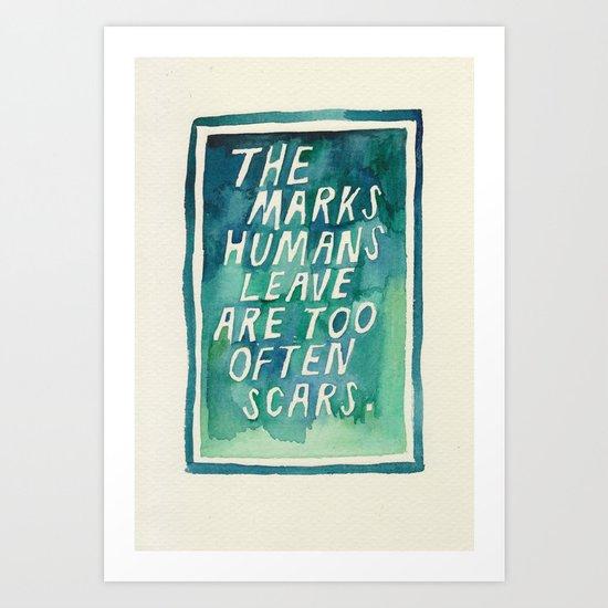 Green August #7 Art Print