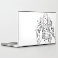 dragon age Laptop & iPad Skins featuring (Dragon Age 2) Hawke by  Steve Wade ( Swade)