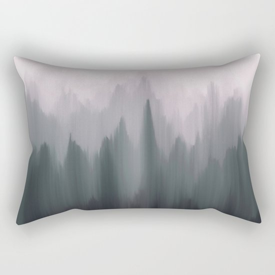 Morning Fog II Rectangular Pillow