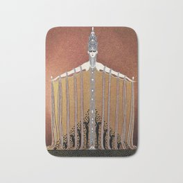 "Design in Art-Deco Style ""Adoration"" Bath Mat"