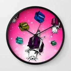 G-Cat Bounce Wall Clock