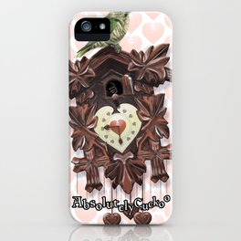 Absolutely Cuckoo by Lee Moyer iPhone Case