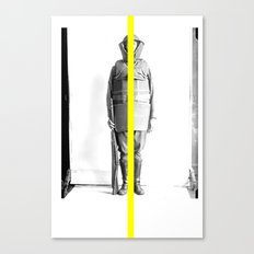 yellow line Canvas Print