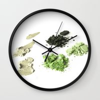 makeup Wall Clocks featuring makeup 02 by VanessaGF