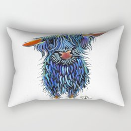 Scottish Highland Cow ' THoMaS ' by Shirley MacArthur Rectangular Pillow