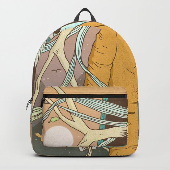 Permeating Backpack
