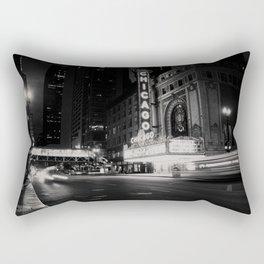 Chicago Theatre ... Rectangular Pillow