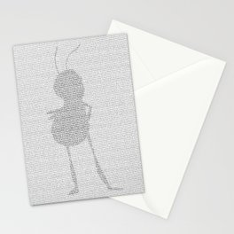 Bee Movie Script Stationery Cards