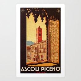 Old Ascoli Piceno Art Print