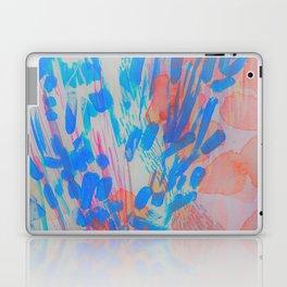 Blue Petal Surge Laptop & iPad Skin
