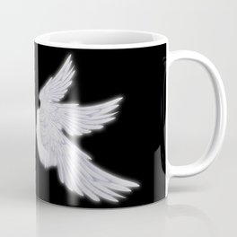 White Archangel Wings Coffee Mug