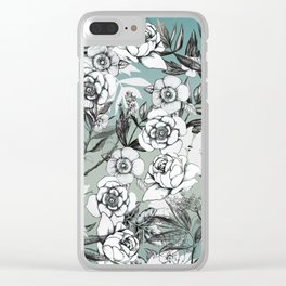 May Flowers Clear iPhone Case
