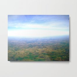 Skies Over Argentina  Metal Print
