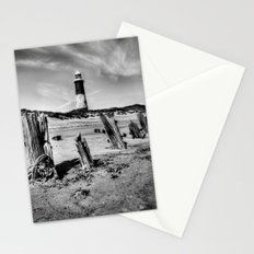 Spurn Point Lighthouse and Groynes Stationery Cards