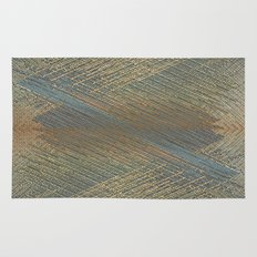 Digital lines pattern Rug