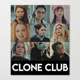 Clone Club - Orphan black Canvas Print