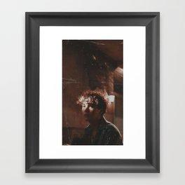 Yoongi - bts Framed Art Print