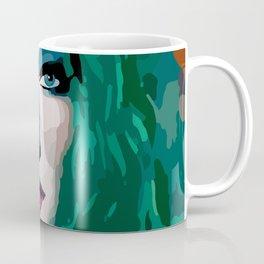 French Girl by Lika Ramati Coffee Mug