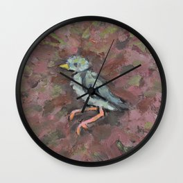 Rest Easy Little One Wall Clock