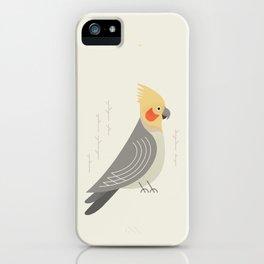 Cockatiel, Bird of Australia iPhone Case