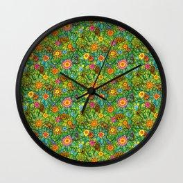 Pattern pony & friends Wall Clock