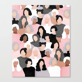 All of us Canvas Print