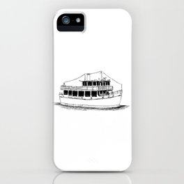 Old Ferry Boat iPhone Case