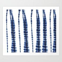 Indigo Blue Tie Dye Delight Kunstdrucke