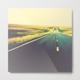 You can go your own way Metal Print