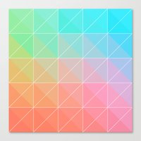 gradient Canvas Prints featuring Gradient by Fimbis