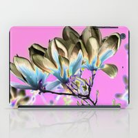 aelwen iPad Cases featuring MAGNOLIA - PopArt by CAPTAINSILVA