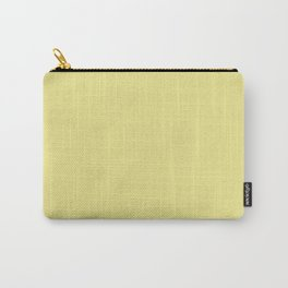 YELLOW IRIS pastel solid color  Carry-All Pouch