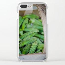 Okra Clear iPhone Case